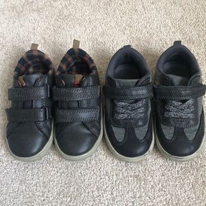 Carter's Boys size 8t shoes - two (2) pairs